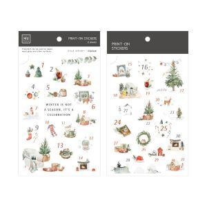 Mu – Print On Stickers – XMas 001