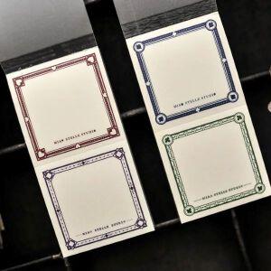 Pokercard Notes – Miao Stelle