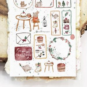 BlackMilk Project – 'Little Things' Christmas Stickers -PREORDER
