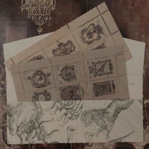 Jieyanow Atelier Zodiac Postage Stamp